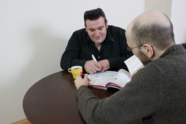 Einzelunterricht im Sprachwohnzimmer